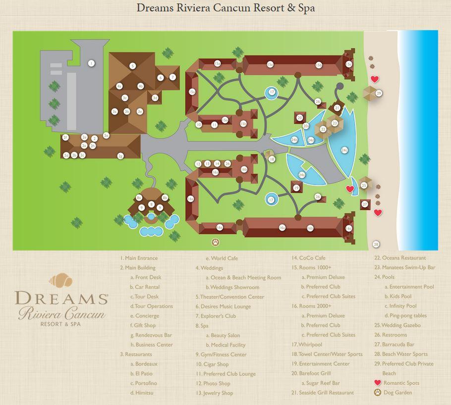 DREAMS Riviera Cancun Resort & Spa - HotelDREAMS Riviera Cancun on