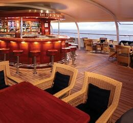 Top of the yacht