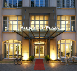 Classik hotel collection alexander plaza front view outside 2 web