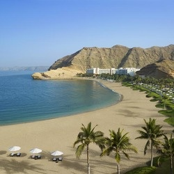 Shangri la s barr al jissah resort and spa al husn hotel beach overview