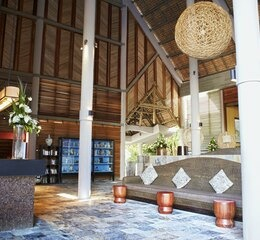 Club med la pointe aux canonniers lobby