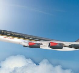 Royal jordanien in the air