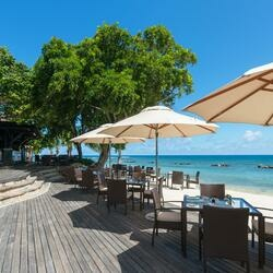 The westin turtle bay resort spa mauritius beach grill exterior 2