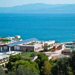 Miraggio thermal spa resort aerial mt athos