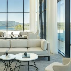 Lux bodrum resort residences lobby