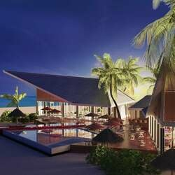Oblu select at sangeli maldives simply veg and just grill exterior view 01