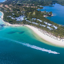 One only le saint geran mauritius aerial view 1