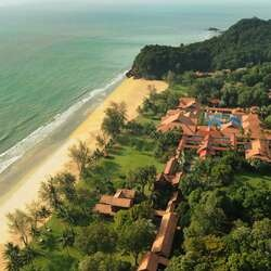 Club med cherating beach malaysia overview