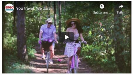 Video ERGO Reiseversicherung You travel. We care.